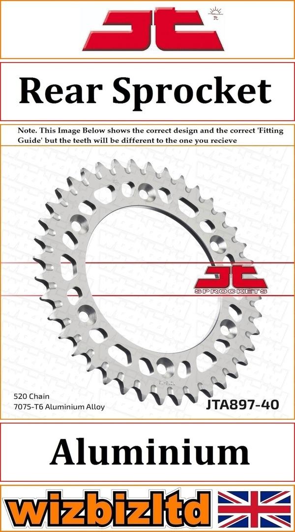 Corona Jt 897 De Aluminio Con 40 Dientes JT