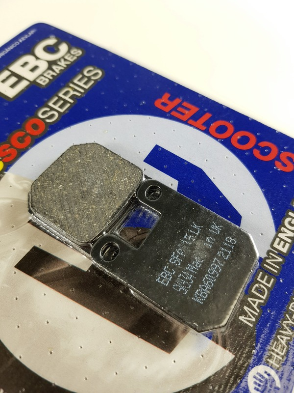 DERBI Predator 50 3 bolt front disc//USD Showa forks 1998-2003 REAR Sintered Copper Brake Pad LC//2T